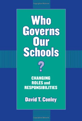 Who Governs Our Schools? Changing Roles and Responsibilities  2003 edition cover