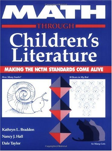 Math Through Children's Literature Making the NCTM Standards Come Alive  1993 edition cover