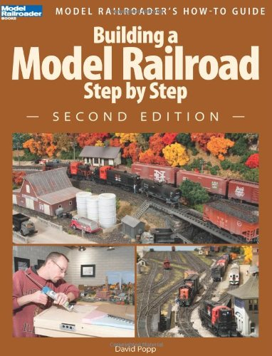 Building a Model Railroad Step by Step  2nd 2012 edition cover