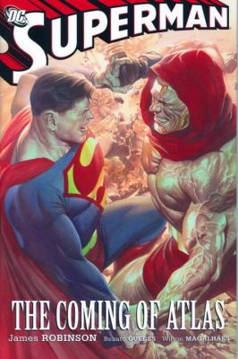 Superman The Coming of Atlas  2009 9781401221324 Front Cover