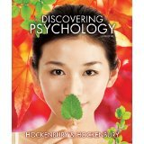 Discovering Psychology:   2012 edition cover