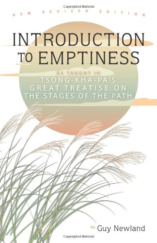 Introduction to Emptiness As Taught in Tsong-Kha-Pa's Great Treatise on the Stages of the Path 2nd 2009 9781559393324 Front Cover