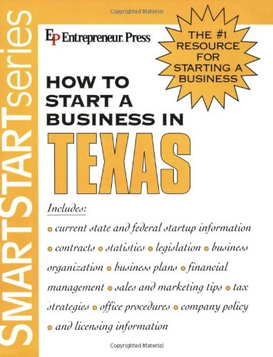 How to Start a Business in Texas   2004 9781932156324 Front Cover
