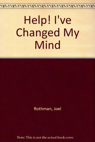 Help! I've Changed My Mind!   1985 edition cover