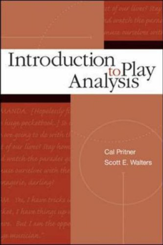 Introduction to Play Analysis   2005 9780072500325 Front Cover