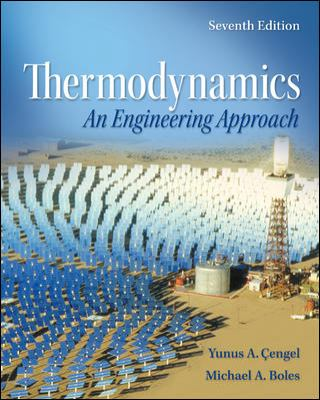 Thermodynamics An Engineering Approach 7th 2011 edition cover