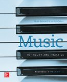 Music in Theory and Practice  9th 2015 edition cover