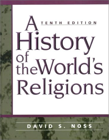 History of the World's Religion  10th 1999 edition cover