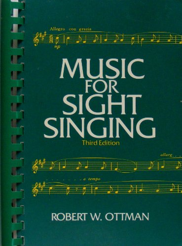 Music for Sight Singing 3rd edition cover