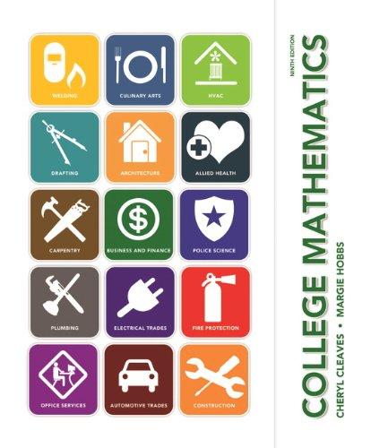 College Mathematics  9th 2014 edition cover