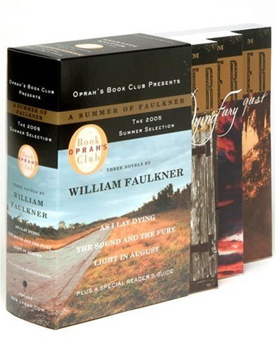 Summer of Faulkner As I Lay Dying; the Sound and the Fury; Light in August N/A edition cover