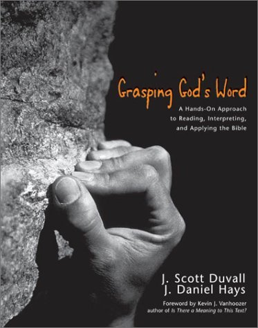 Grasping God's Word   2001 edition cover
