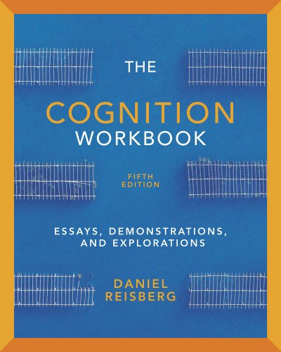 Cognition Essays, Demonstrations, and Explorations 5th 2013 edition cover