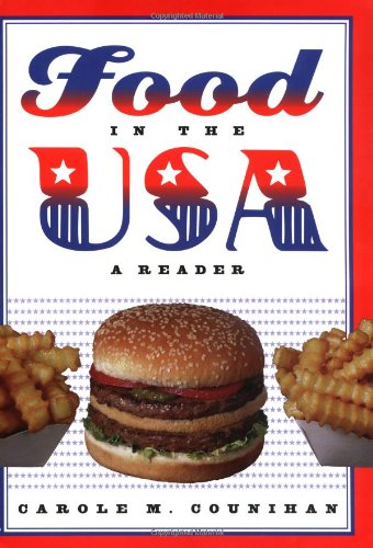Food in the USA Reader  2002 edition cover