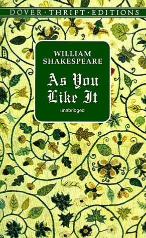 As You Like It   1998 (Unabridged) edition cover