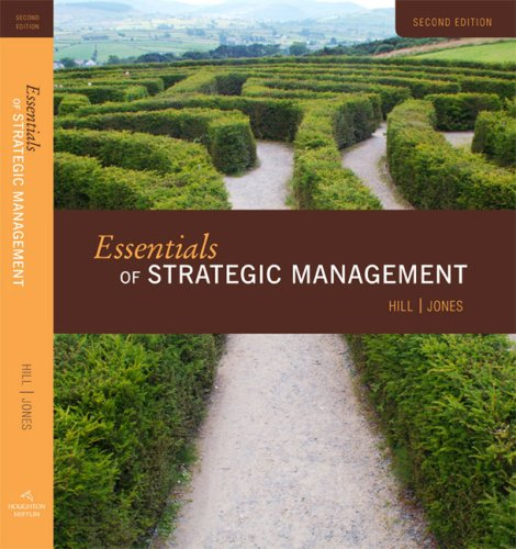Essentials of Strategic Management  2nd 2009 9780547194325 Front Cover