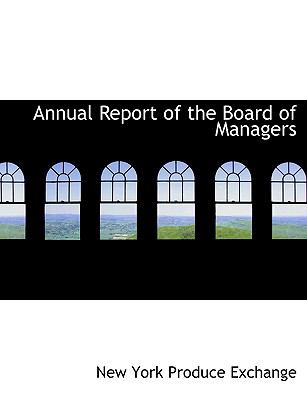 Annual Report of the Board of Managers:   2008 edition cover