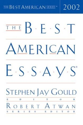 Best American Essays 2002   2002 edition cover