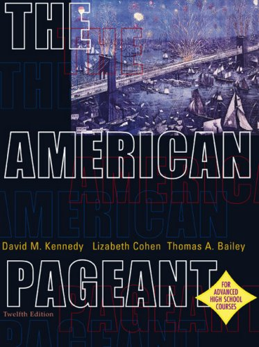 American Pageant : Advanced Placement 12th 2002 edition cover