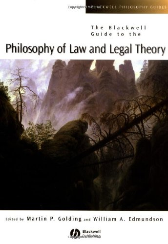 Blackwell Guide to the Philosophy of Law and Legal Theory   2004 edition cover