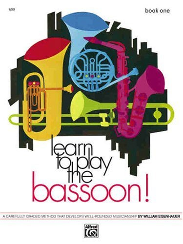 Learn to Play Bassoon   1972 edition cover