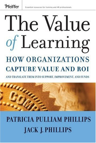 Value of Learning How Organizations Capture Value and ROI and Translate It into Support, Improvement, and Funds  2007 edition cover