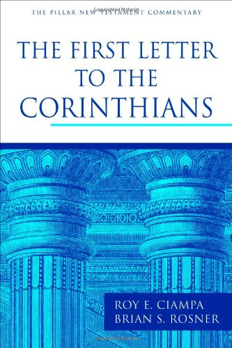 First Letter to the Corinthians (PNTC)   2010 edition cover