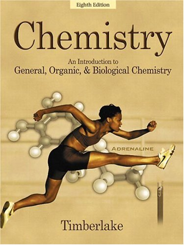 Chemistry An Introduction to General, Organic, and Biological Chemistry 8th 2003 edition cover