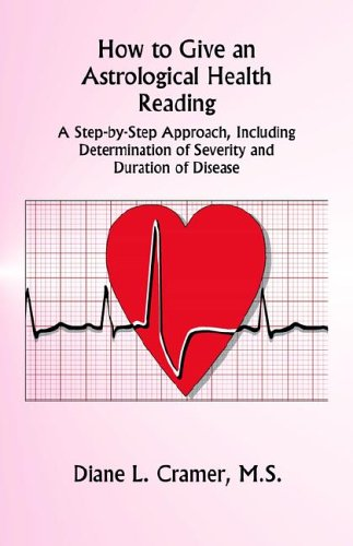 How to Give an Astrological Health Reading N/A 9780866903325 Front Cover