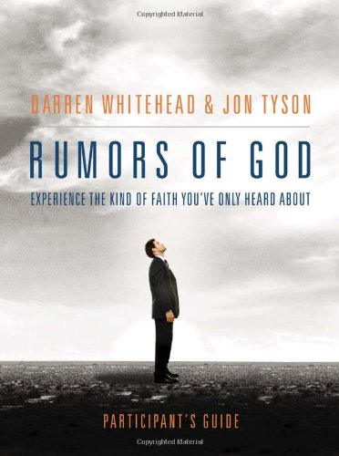 Rumors of God Participant's Guide   2012 9781401675325 Front Cover