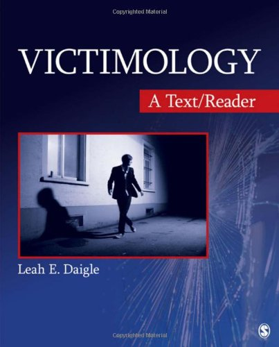 Victimology A Text/Reader  2012 edition cover