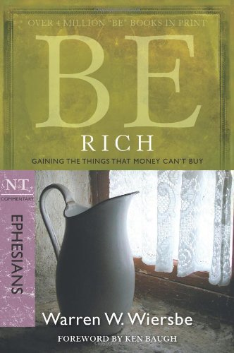 Be Rich Gaining the Things That Money Can't Buy N/A edition cover
