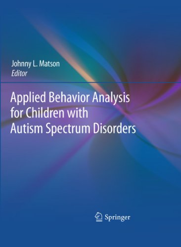 Applied Behavior Analysis for Children with Autism Spectrum Disorders   2009 edition cover