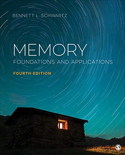 Cover art for Memory: Foundations and Applications, 4th Edition