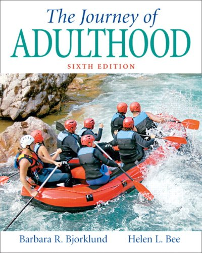 Journey of Adulthood  6th 2008 (Revised) edition cover