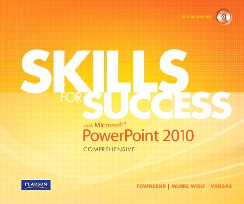 Skills for Success with Microsoft PowerPoint 2010   2011 9780135088326 Front Cover