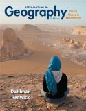 Introduction to Geography People, Places and Environment 6th 2014 edition cover