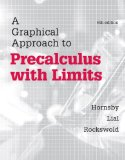 Graphical Approach to Precalculus with Limits  6th 2015 edition cover