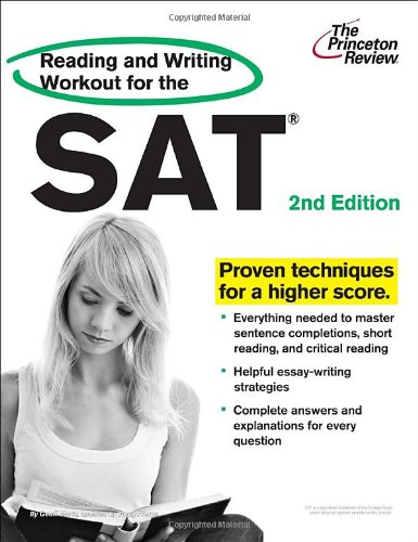 Reading and Writing Workout for the SAT, 2nd Edition  N/A edition cover