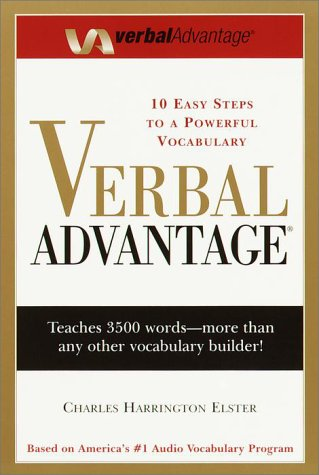 Verbal Advantage Ten Easy Steps to a Powerful Vocabulary  2000 (Large Type) edition cover