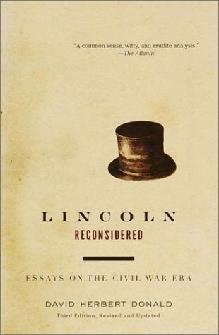 Lincoln Reconsidered Essays on the Civil War Era 3rd 2001 (Revised) edition cover
