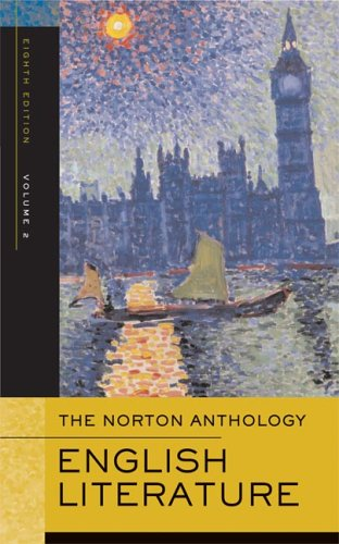 Norton Anthology of English Literature  8th 2005 edition cover