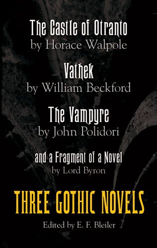 Three Gothic Novels  N/A edition cover