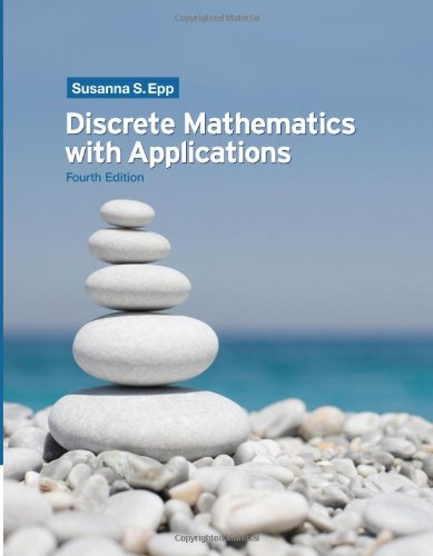 Discrete Mathematics with Applications  4th 2011 9780495391326 Front Cover