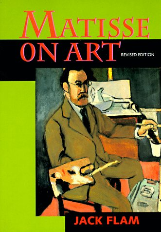 Matisse on Art   1995 (Revised) edition cover