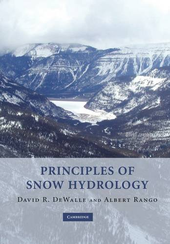 Principles of Snow Hydrology   2011 edition cover