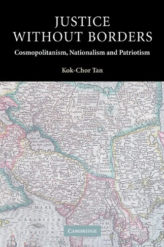 Justice Without Borders Cosmopolitanism, Nationalism and Patriotism  2004 edition cover