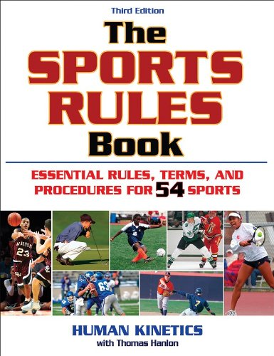 Sports Rules Book  3rd 2009 edition cover