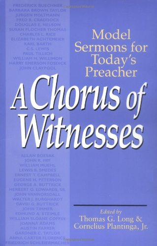 Chorus of Witnesses Model Sermons for Today's Preacher  1994 edition cover