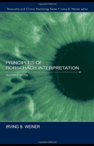 Principles of Rorschach Interpretation  2nd 2003 (Revised) edition cover